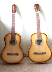 Продам две шестиструнных гитары по 1000р.