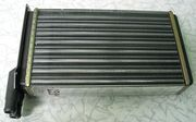 Продам б/у алюминиевый радиатор отопителя ВАЗ 2109.