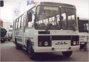 Автобус ПАЗ 2005г с маршрутом