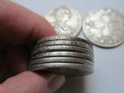 Копии монет царской России оптом. Под серебро. Рубли династии Романовы