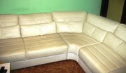 Продам или обменяю кожаный диван