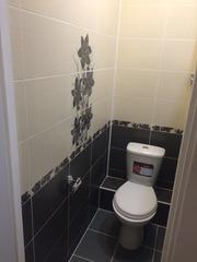 Ванная комната и санузел под ключ. Укладка кафеля.