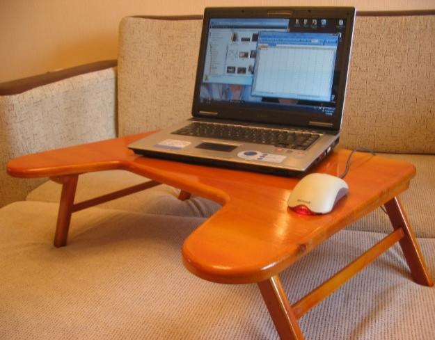 Столики для ноутбука фото своими руками